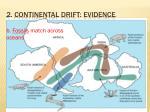 2 continental drift evidence1