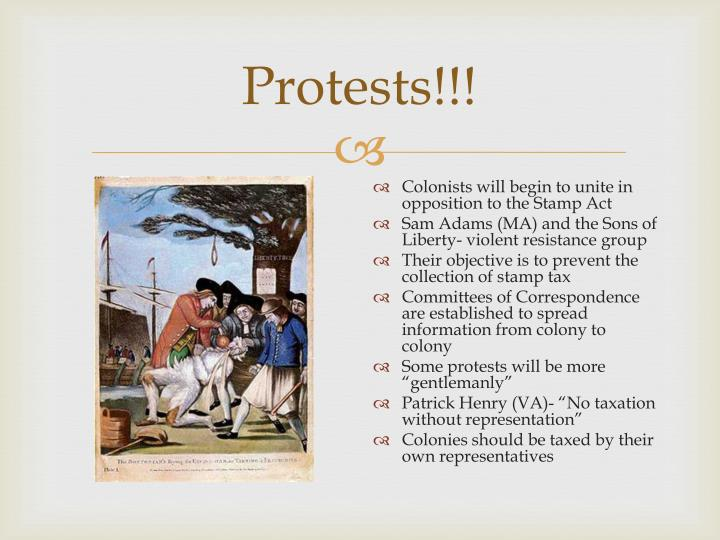 Protests!!!
