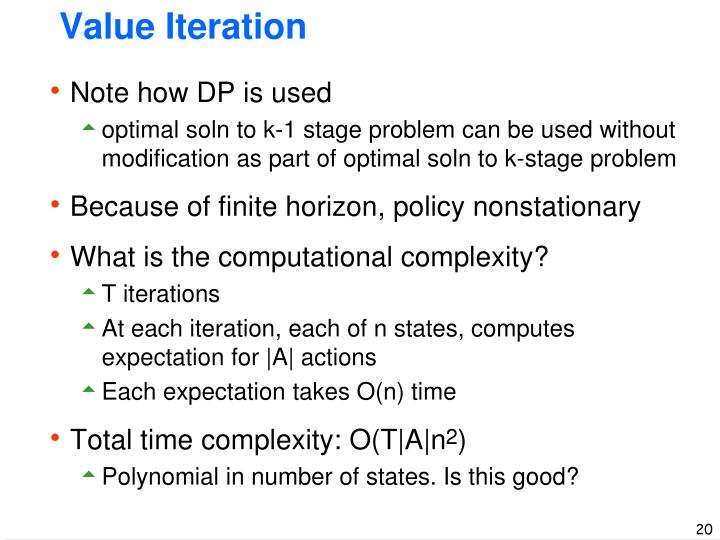 Value Iteration