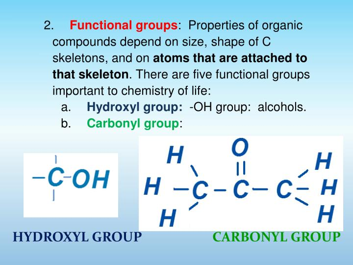 HYDROXYL GROUP