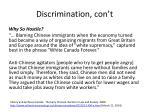 discrimination con t1