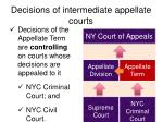 decisions of intermediate appellate courts5