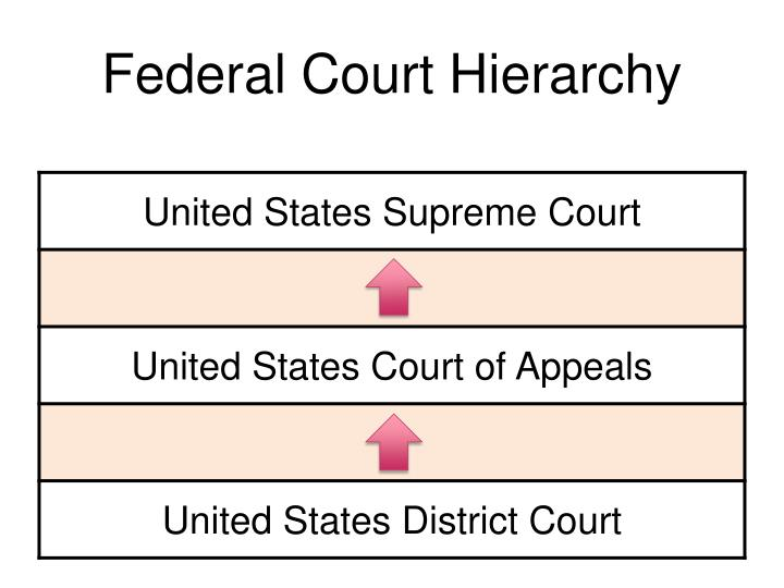 Federal Court Hierarchy