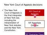new york court of appeals decisions