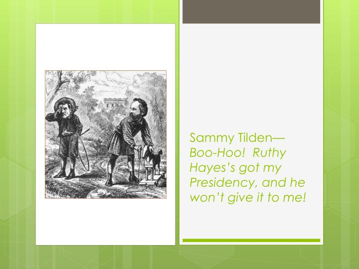 Sammy Tilden