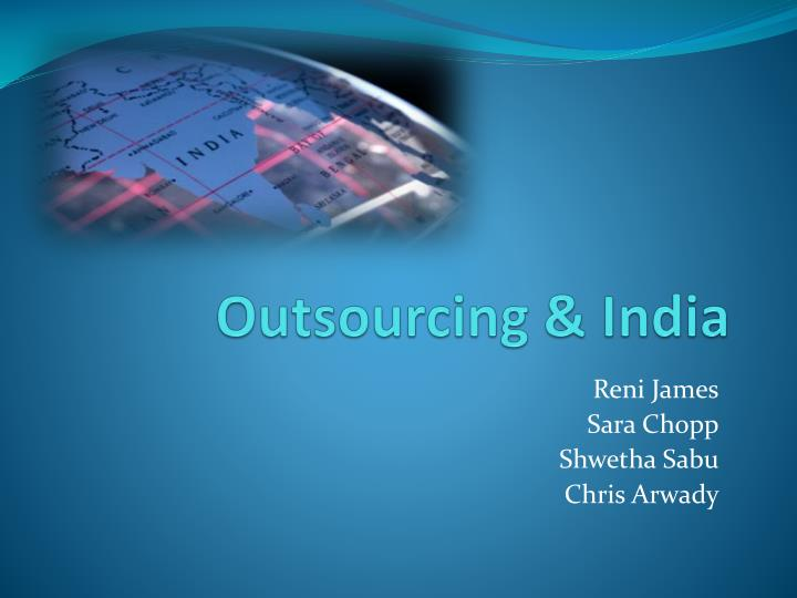Outsourcing india