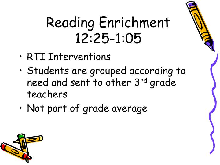 Reading Enrichment