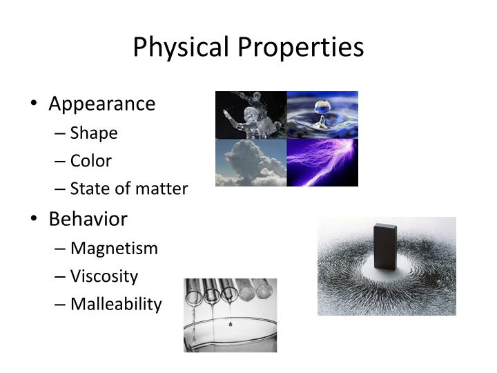 Physical properties1