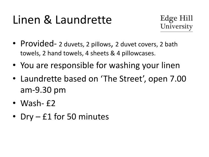 Linen & Laundrette
