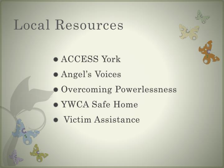 Local Resources