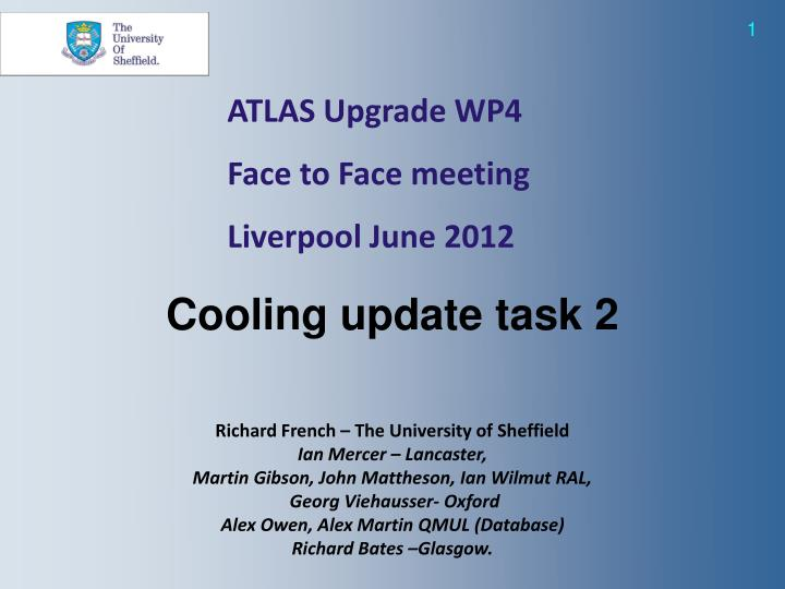 ATLAS Upgrade WP4