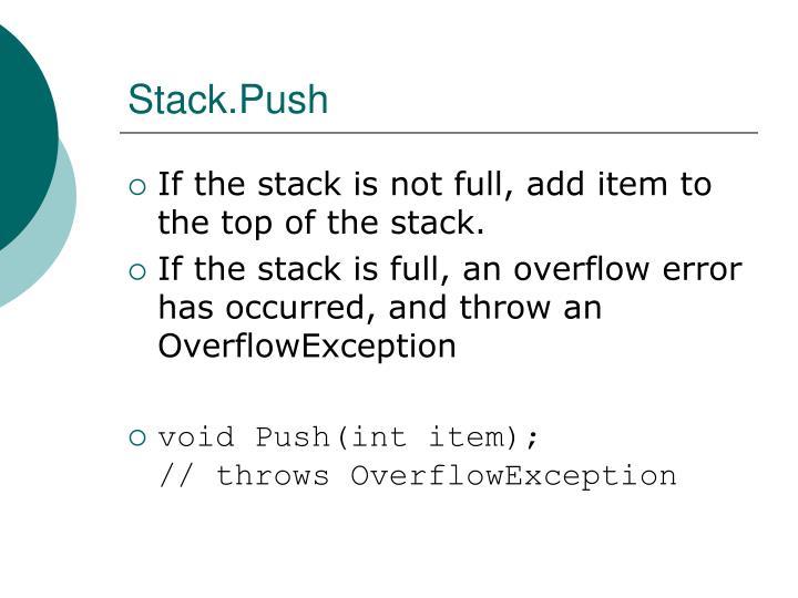 Stack.Push