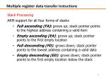 multiple register data transfer instuctions4