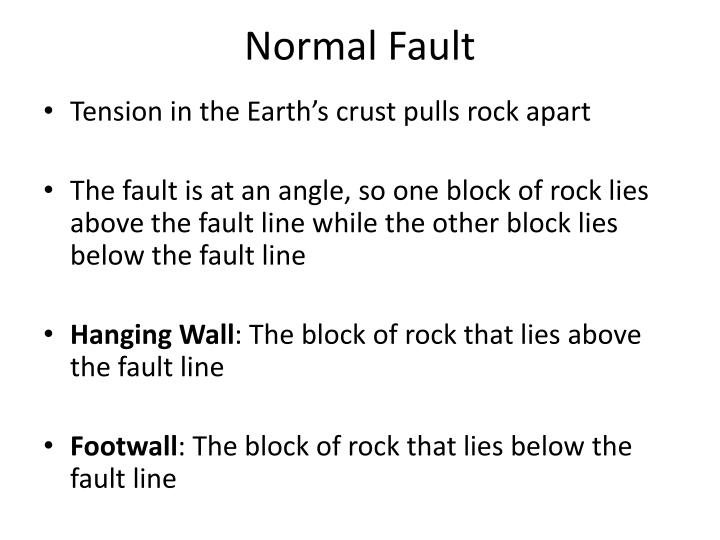 Normal Fault