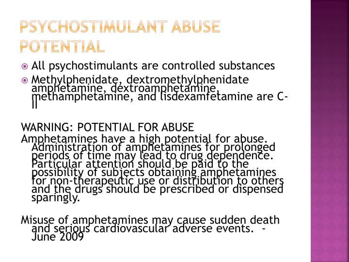 Psychostimulant