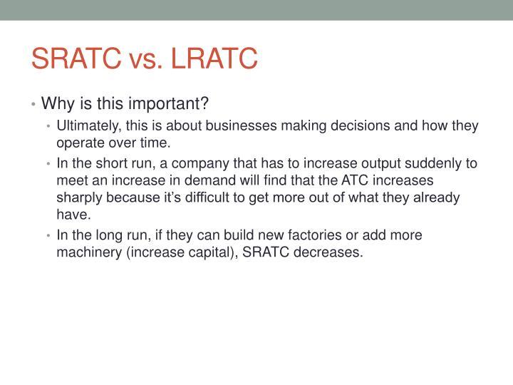 SRATC vs. LRATC