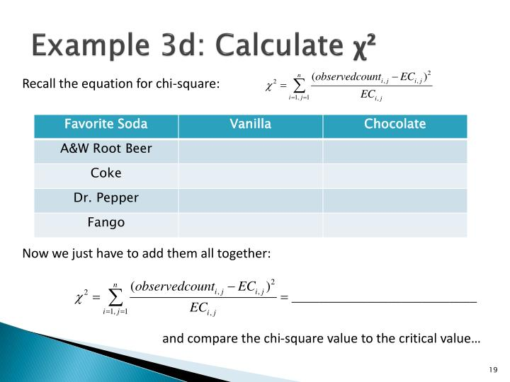 Example 3d: Calculate