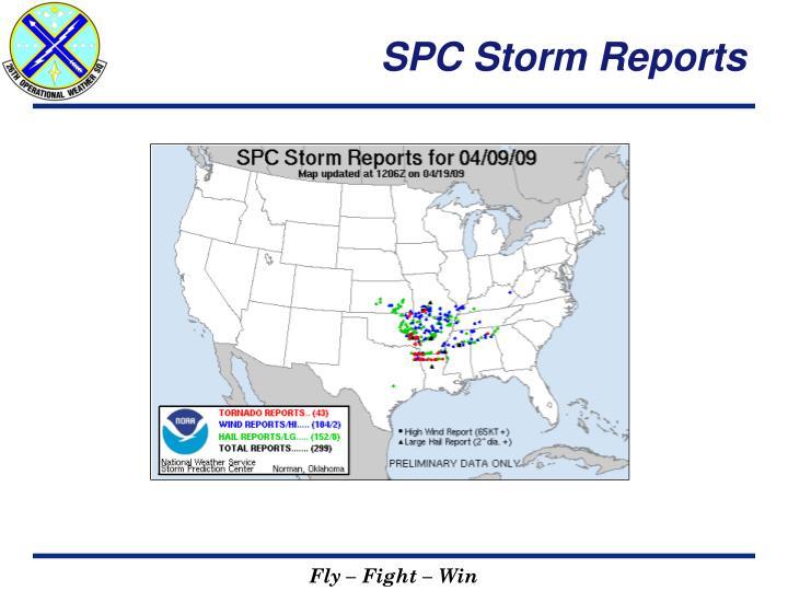 SPC Storm Reports