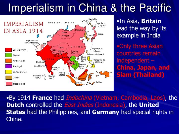 Imperialism in China & the Pacific