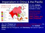 imperialism in china the pacific