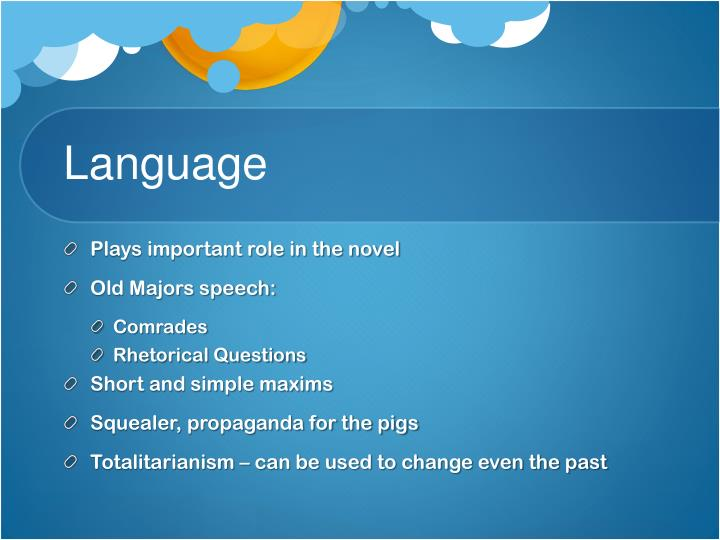 abuse of language animal farm Title: length color rating : language in animal farm essay - language is a very powerful tool it is a means of basic communication, and has been around for centuries.