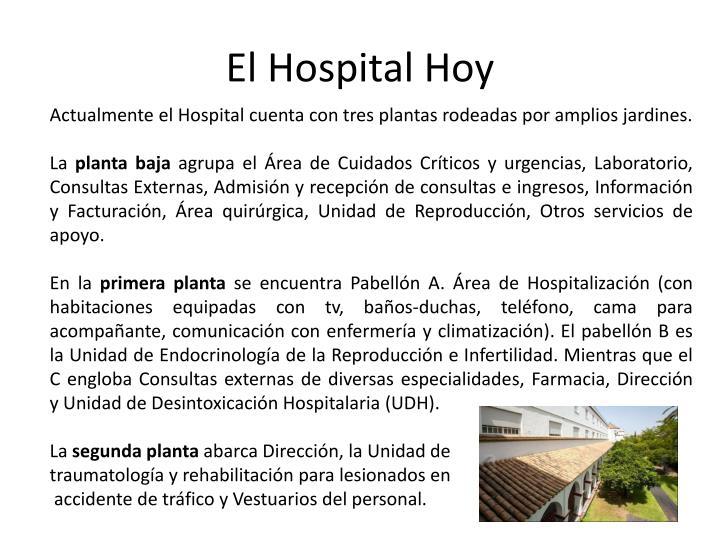 El Hospital Hoy