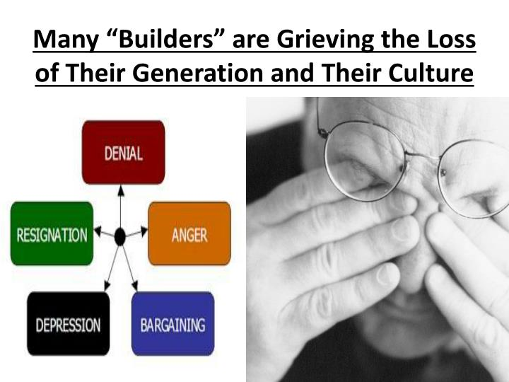 "Many ""Builders"" are Grieving the Loss"