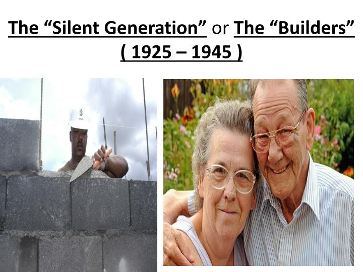 "The ""Silent Generation"""