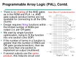 programmable array logic pal contd
