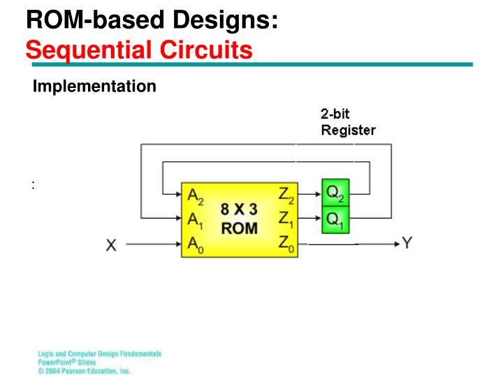 ROM-based Designs: