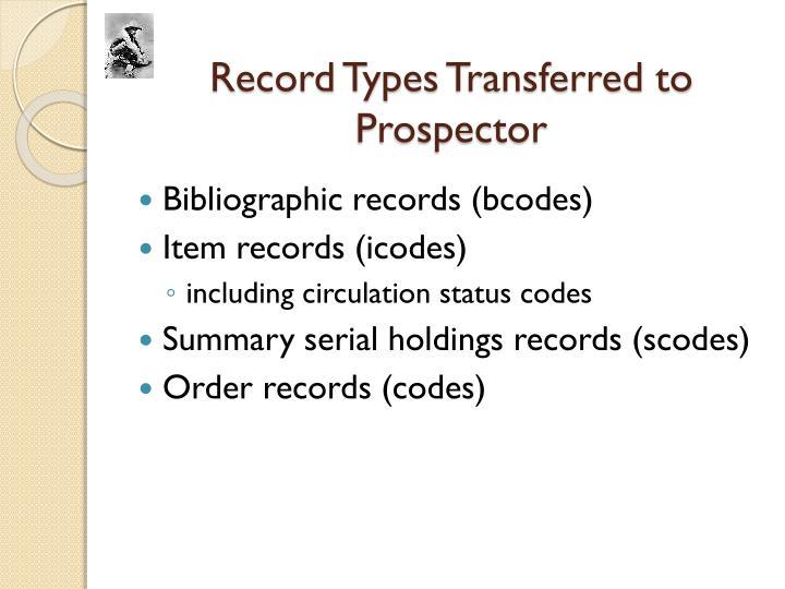 Record Types