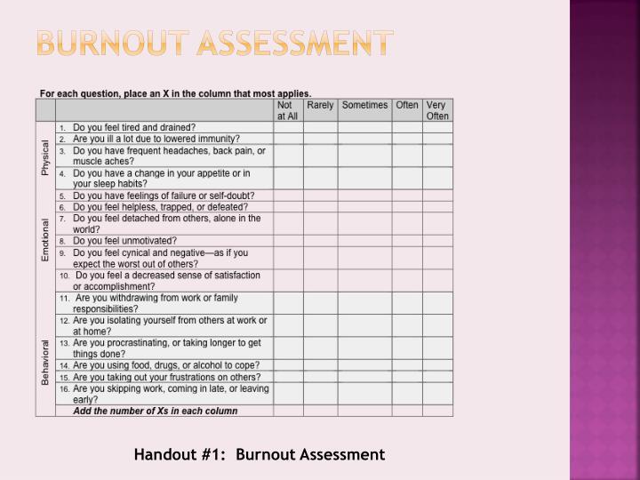 Burnout Testi