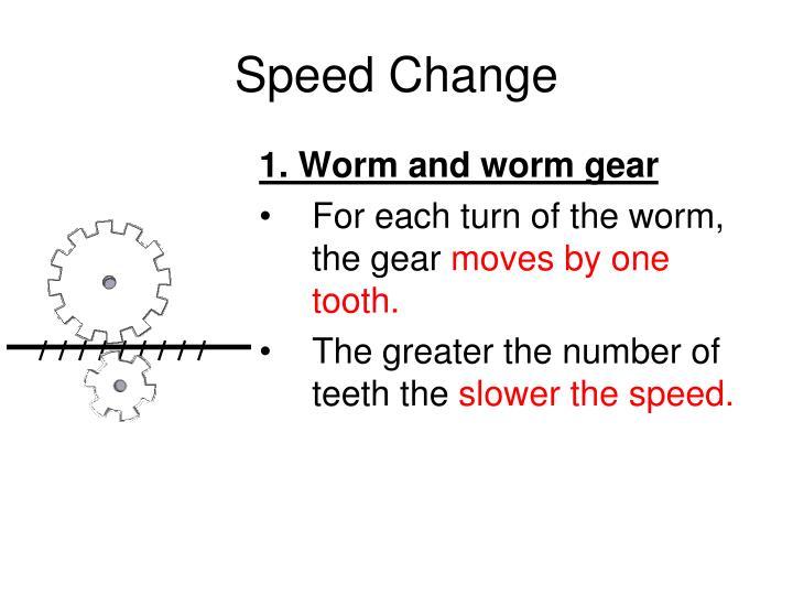 Speed Change