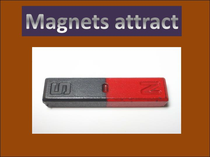 Magnets attract