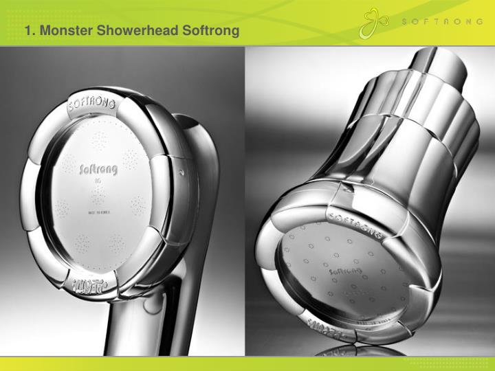 1. Monster Showerhead