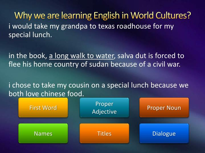 Why learn English? - All competition entries | Learn English