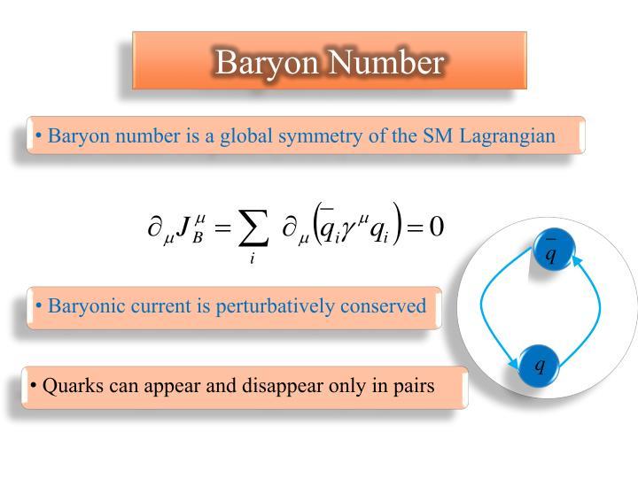 Baryon Number
