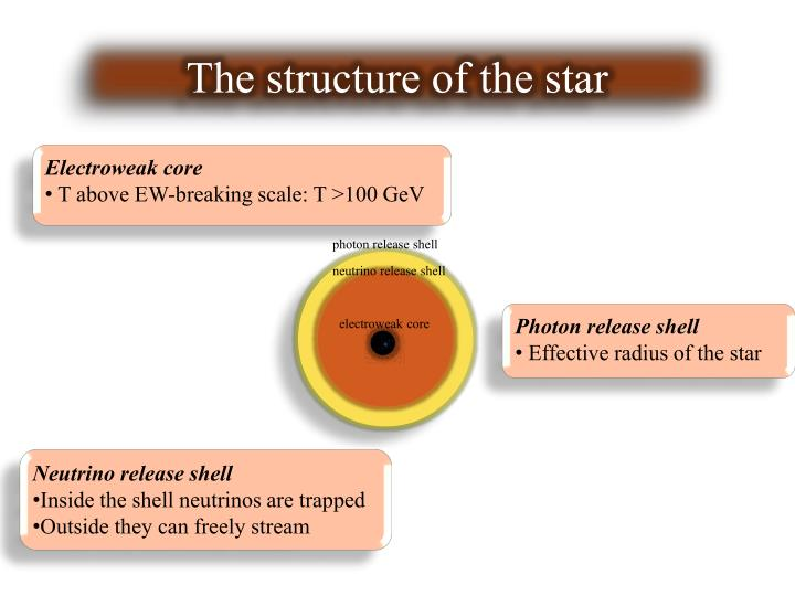 The structure of the star
