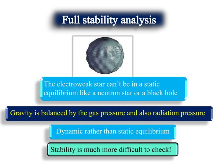 Full stability analysis