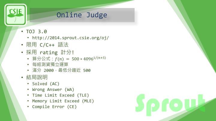 Online Judge