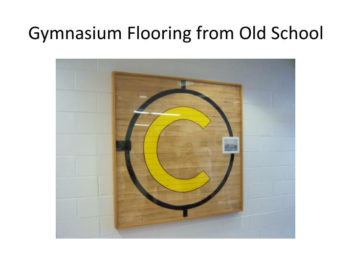 Gymnasium Flooring from Old School