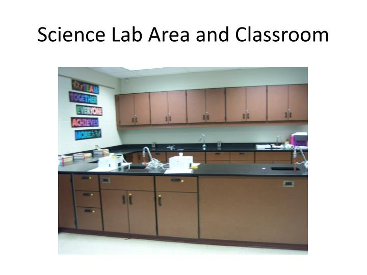 Science Lab Area and Classroom