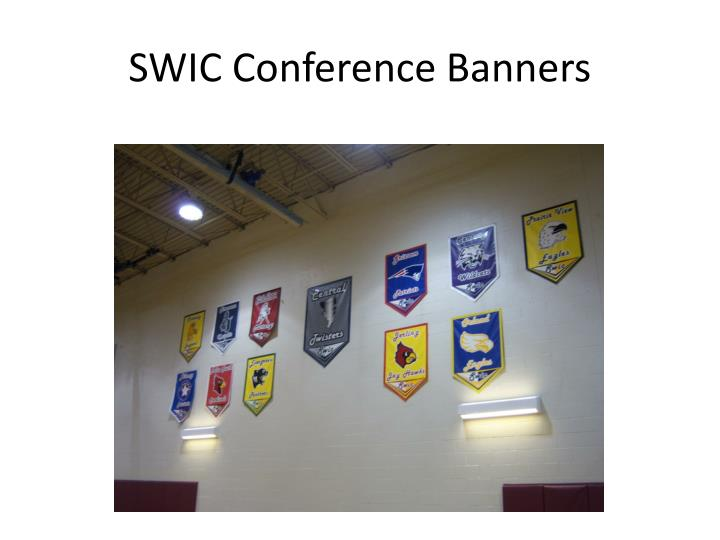 SWIC Conference Banners