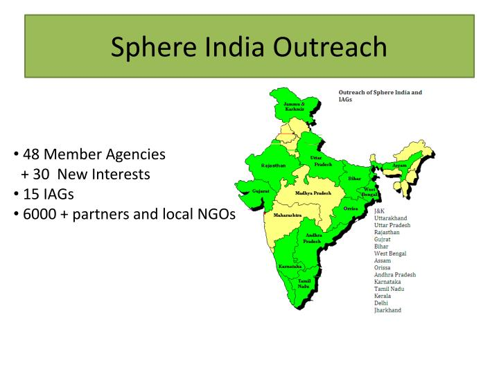 Sphere india outreach