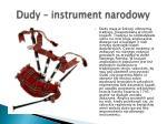 dudy instrument narodowy