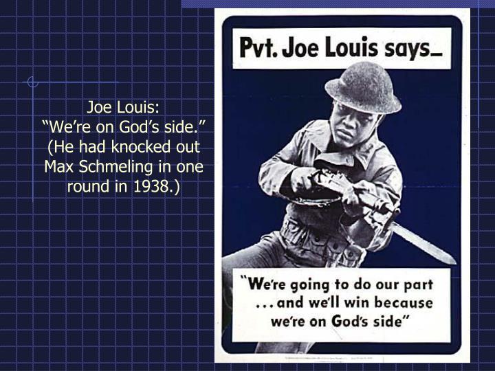 Joe Louis: