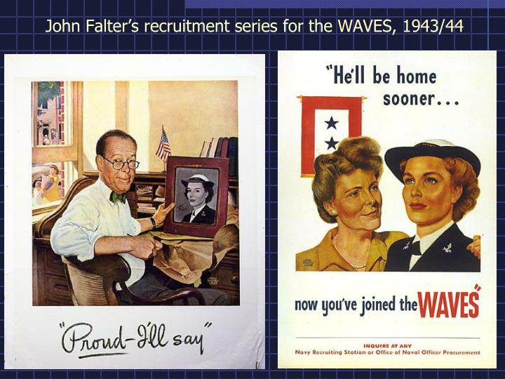 John Falter's recruitment series