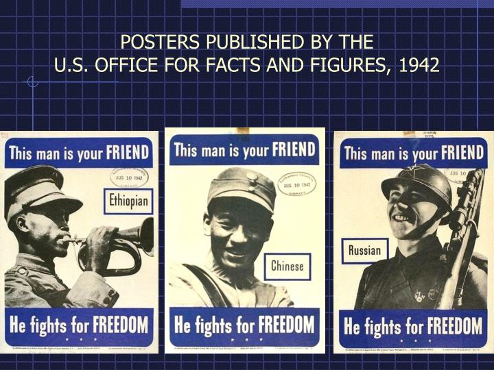 POSTERS PUBLISHED BY THE