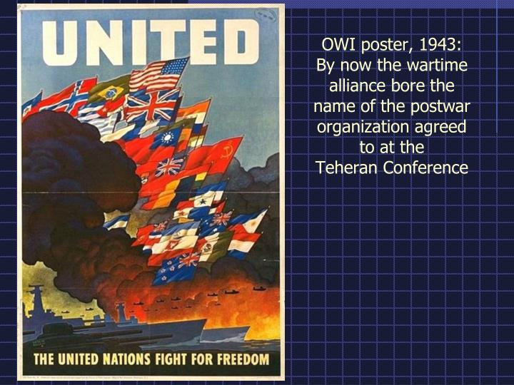 OWI poster, 1943: