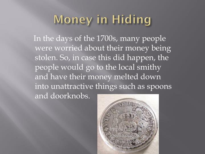 Money in Hiding